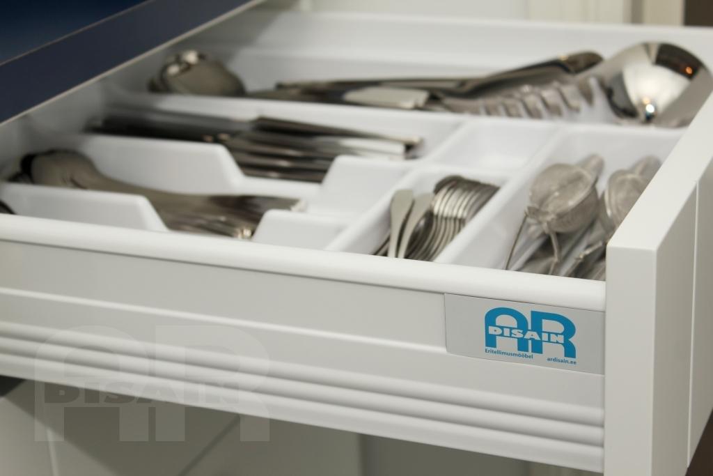 Blum tandembox sahtlisüsteem ABS plastist köögitarvikute organisaatoriga
